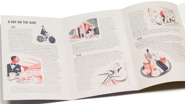 Rapha City Cycling Guide Set – alla cityguider har fantastiska illustrationer och beskrivande texter om några av Europas bästa cykelstäder.